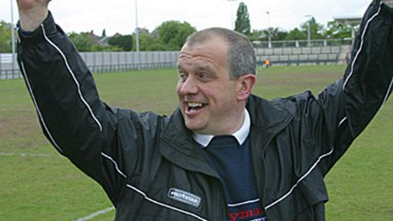 Former Bracknell Town manager Alan Taylor. Photo: Richard Claypole.