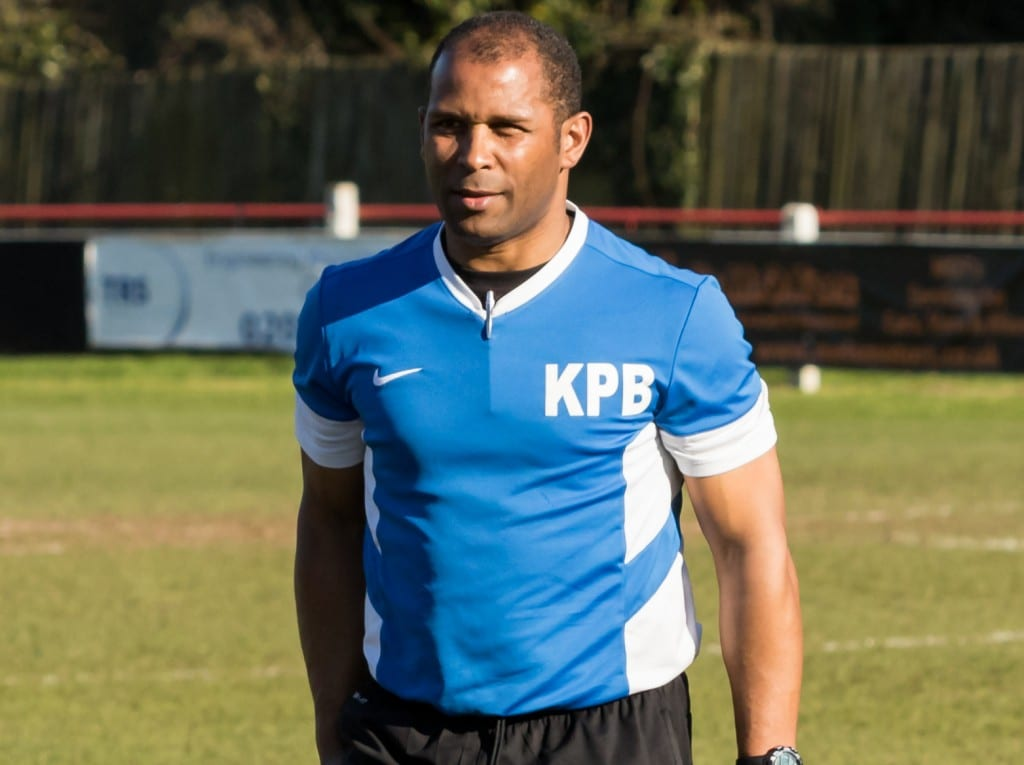 Bracknell Town manager Keith Penicott-Bowen. Photo: Neil Graham.