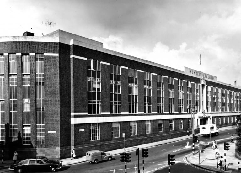 Huntley & Palmers Biscuit Factory in Reading. Photo: getreading.co.uk