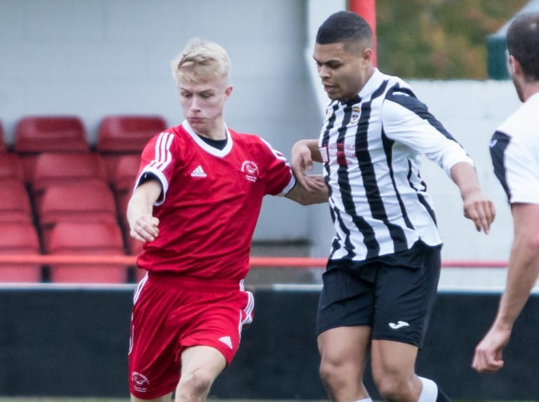 Bracknell Town youngster Sean Hanley. Photo: Neil Graham.