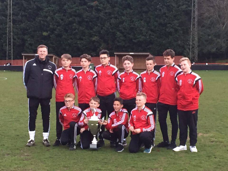 U13s win the Dutch Easter Cup winners 2016
