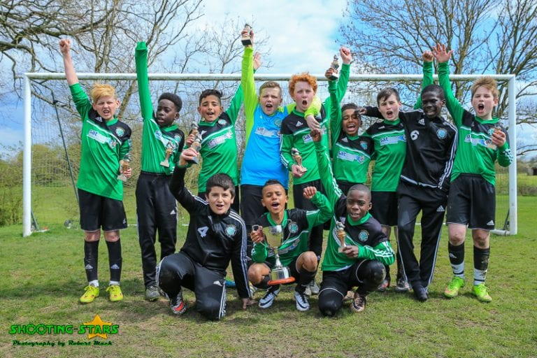 Eldon Celtic under 11s won the cup on Saturday. Photo: Robert Mack.