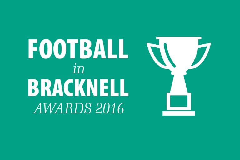 Football in Bracknell Community Awards 2016.