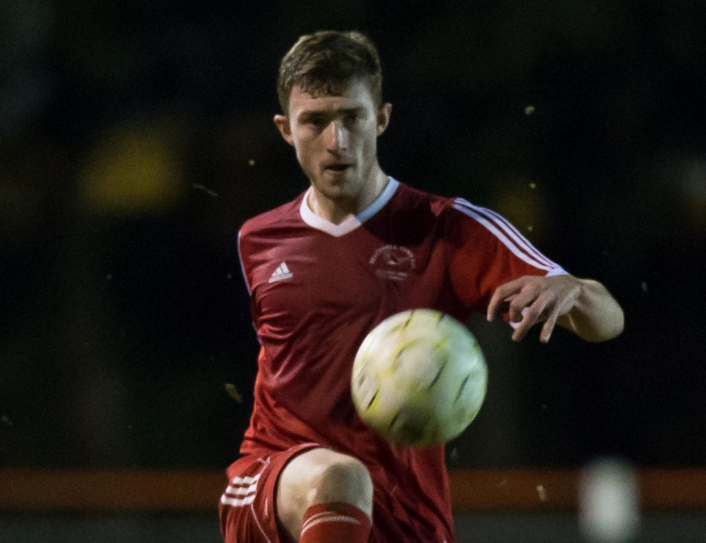 Bracknell Town's George Short. Photo: Richard Claypole.