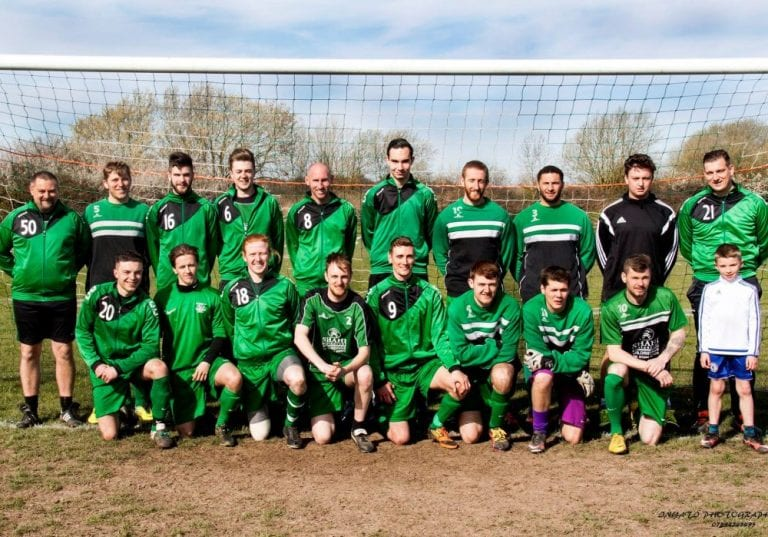 Whitegrove FC of the Bracknel lSunday League. Photo: Tony Hardy.
