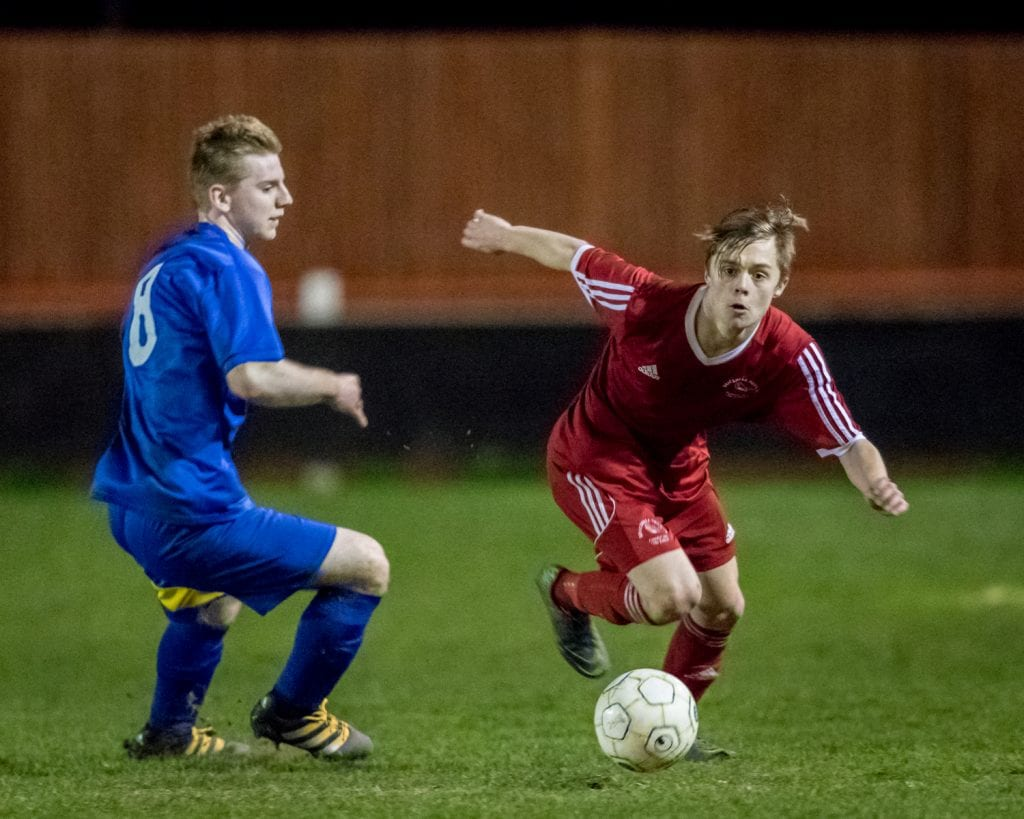 Impressive Bracknell Town youngster George Lock. Photo: Neil Graham.