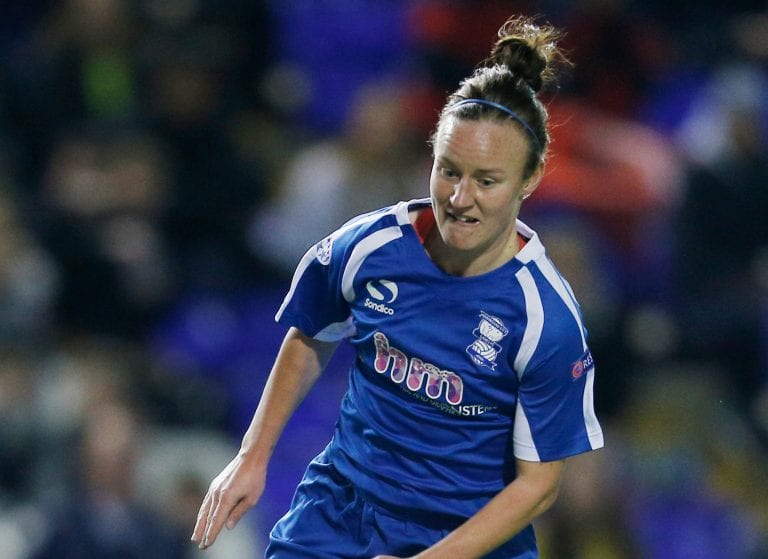 New Reading FC Women midfielder Remi Allen. Photo: Birmingham Mail.