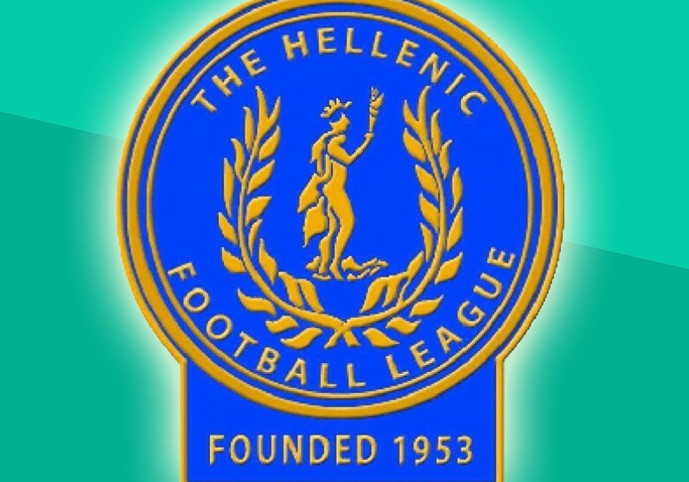 Uhlsport Hellenic Football League logo.