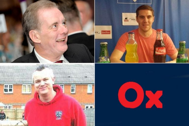The first #HellenicPanel. Clockwise from top left: Dave Wright, Lewis Rudd, OxOnFootball & James Bartaby.