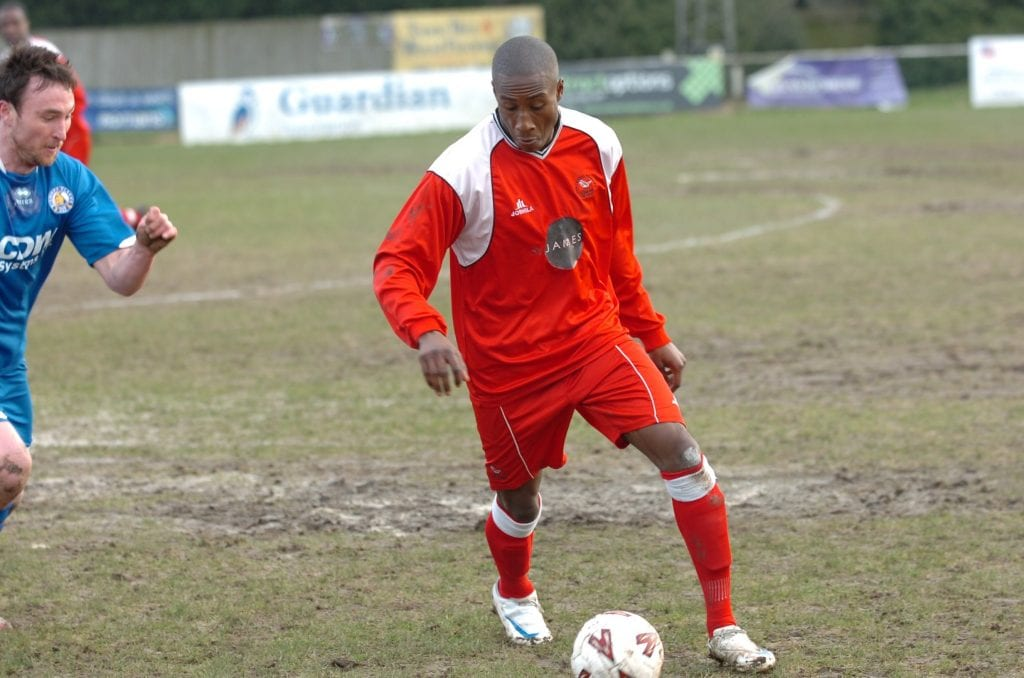 Ex-Bracknell Town striker Nathan Jack. Photo: getreading.co.uk