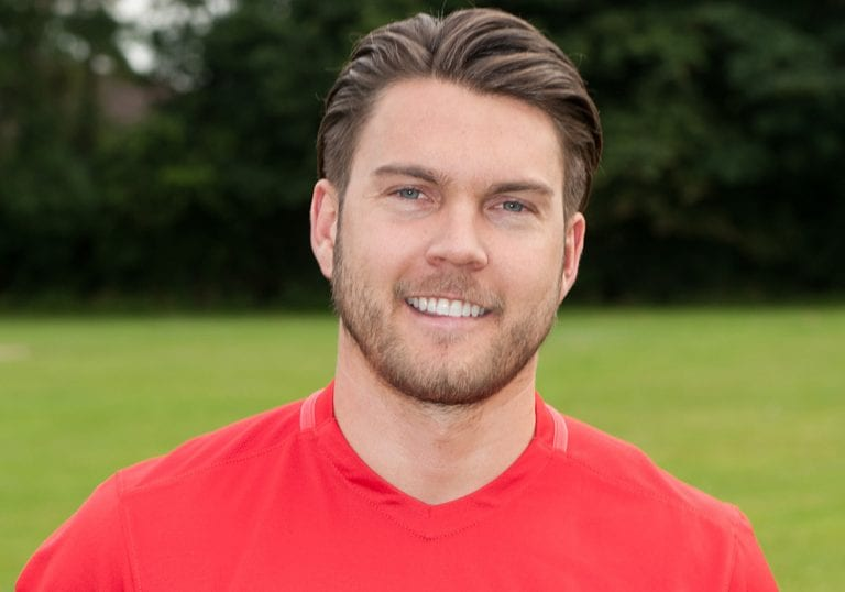 Nick Bateman at Binfield FC. Photo: Colin Byers.