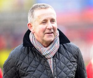 Former Aldershot Town manager and Binfield resident Terry Brown. Photo: Aldershot News & Mail.