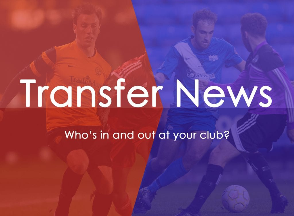 All the latest non league player transfers.