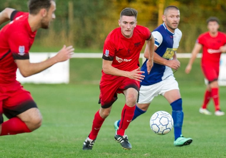 Binfield FC's Asa Povey. Photo: Colin Byers.