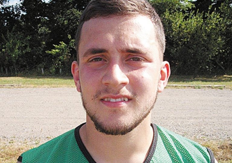 Wokingham & Emmbrook FC goalkeeper Ashley East. Photo: Henley Standard.