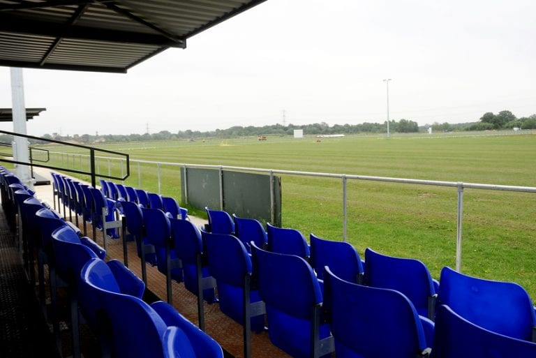 Eversley & California's Fox Lane ground. Photo: Wokingham Times.