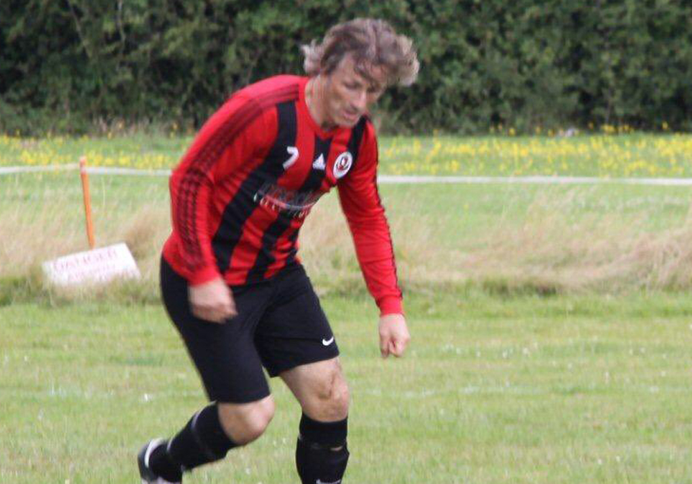 Finchampstead Athletic Sunday's Gareth Ainsworth. Photo: Berks County FC.