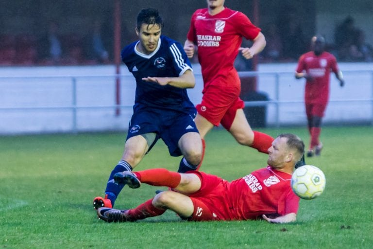 Bracknell Town's Khalid Senussi. Photo: Neil Graham.