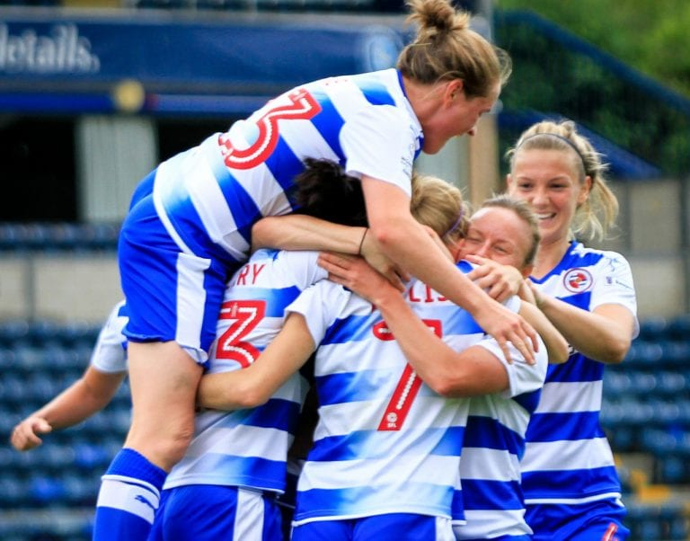 Reading FC Women vs Notts County Ladies. Photo: Neil Graham.
