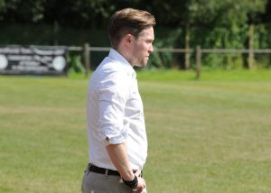 Sandhurst Town manager Luke Turkington. Photo: Mark Pugh.