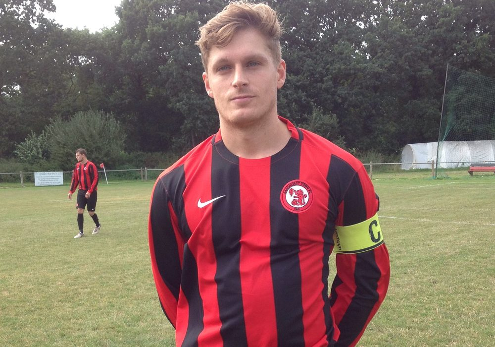 Sandhurst Town's new home kit. Photo: @sandhursttownfc