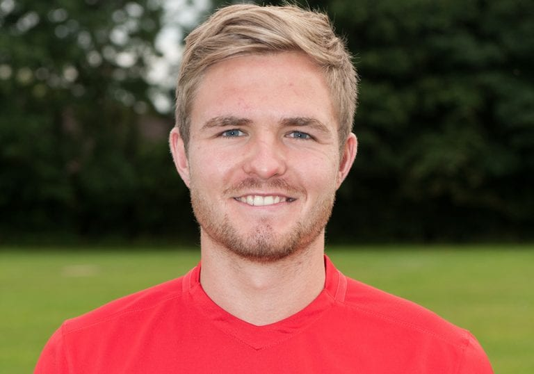 Binfield FC's James Charlton. Photo: Colin Byers.
