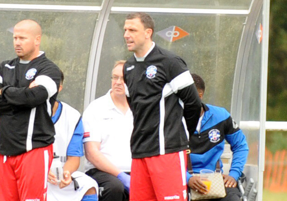 Interview with Tonbridge Angels manager Steve McKimm following Emirates FA Cup draw with Ascot United