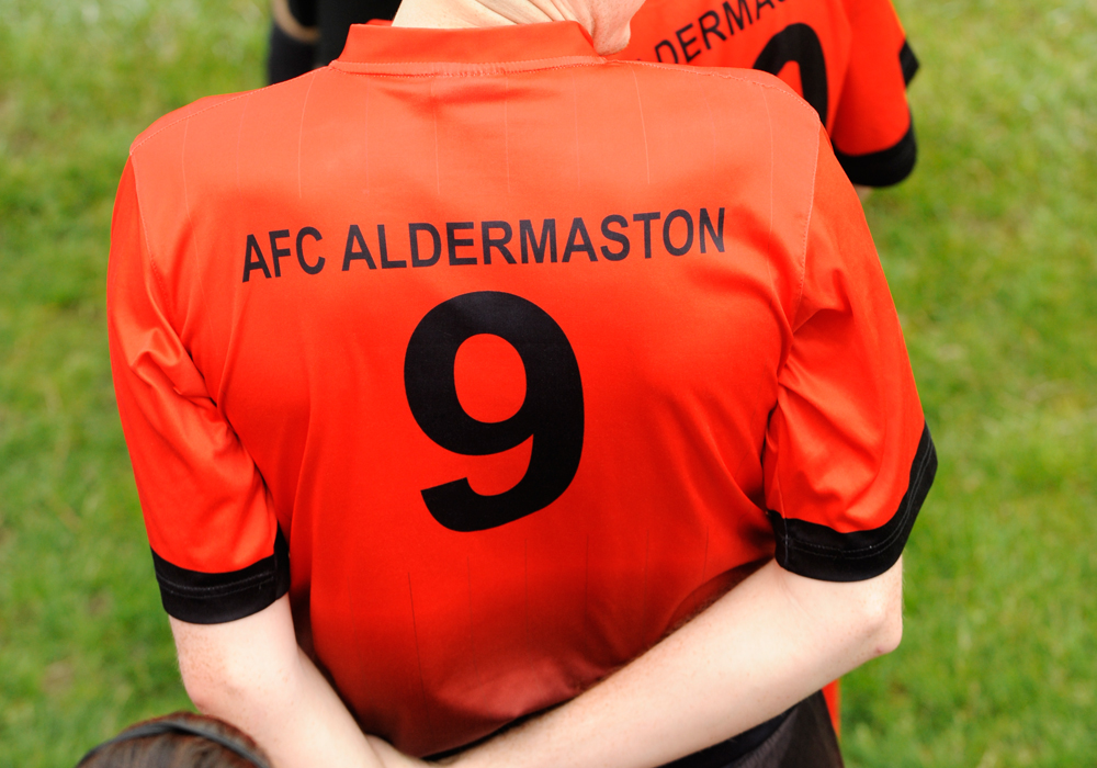 AFC Aldermaston shirt. Photo: Mark Pugh.