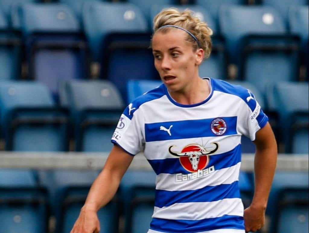 Reading FC Womens Becky Jane. Photo: Neil Graham.