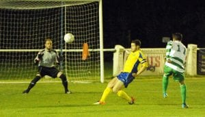Ascot United's Jesse Wilson. Photo: Mark Pugh.
