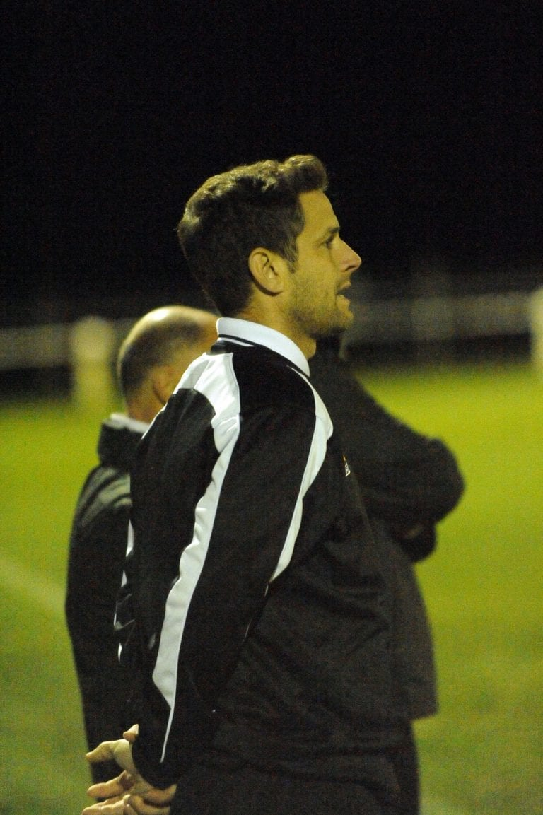 Ascot United manager Jeff Lamb. Photo: Mark Pugh.