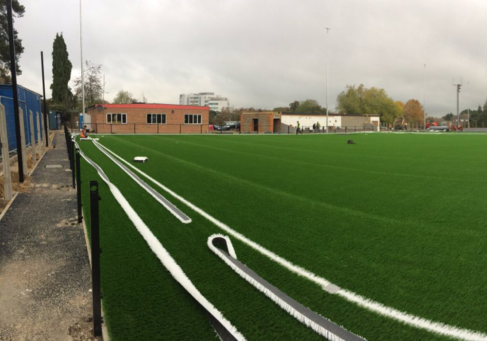 Bracknell Town's new 3G pitch at Larges Lane. Photo: Kayne Steinborn-Busse.
