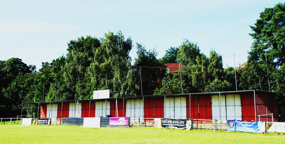 Larges Lane, the home of Bracknell Town. Photo: Arron Burton.