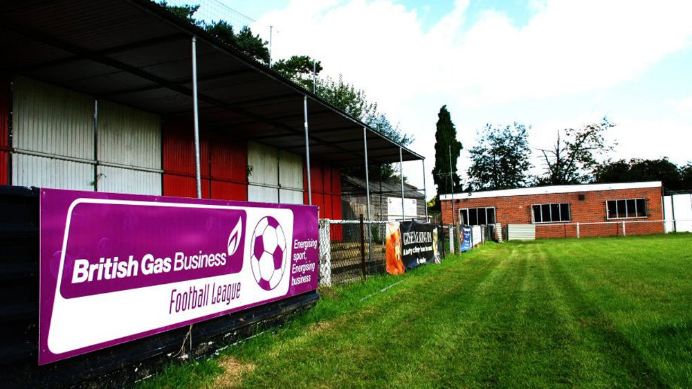 Bracknell Town's Larges Lane as it was in 2007. Photo: Arron Burton.