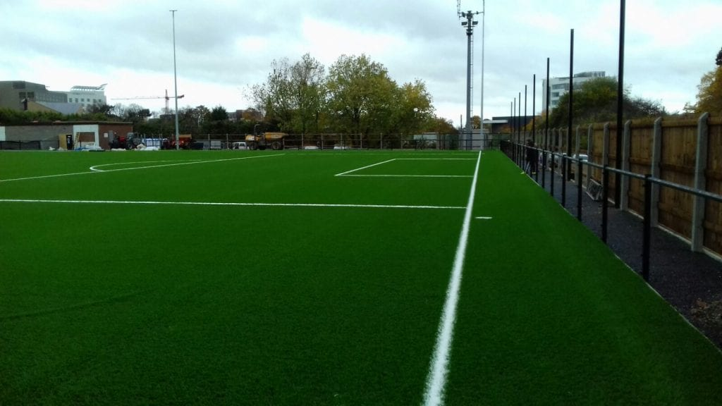 The new Larges Lane ground. Photo: Colin Howard.