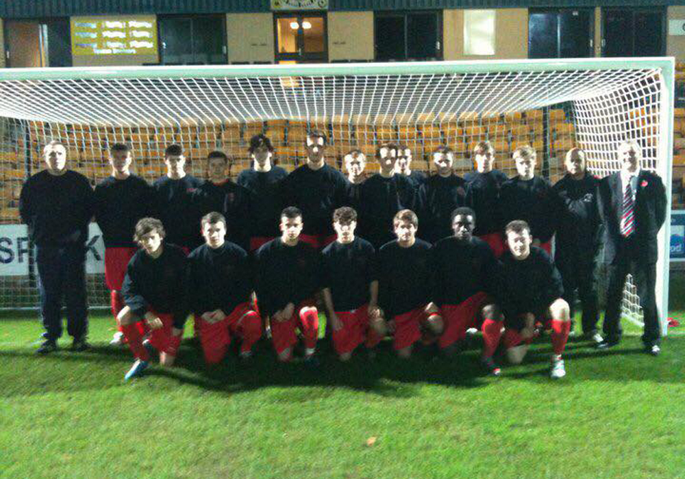 The 2010/11 Bracknell Town FC Youth Team. Photo: Tom Canning.