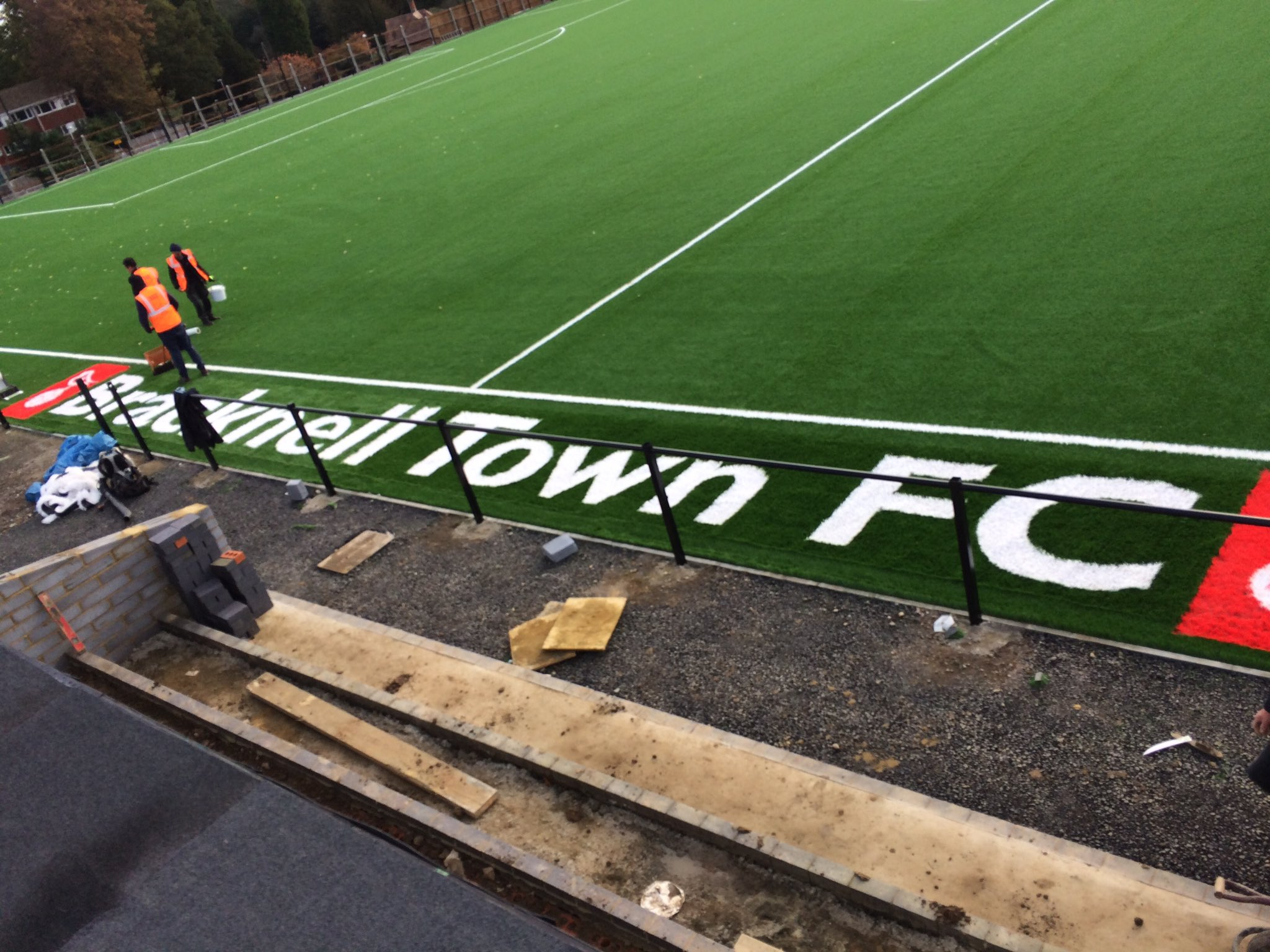 Bracknell Town's Larges Lane ground re-opening hits delay