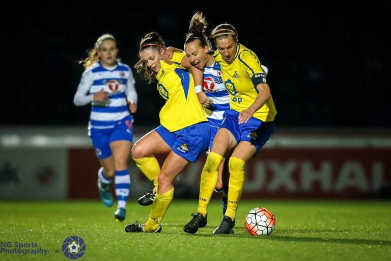Reading FC Women vs Doncaster Belles. FA WSL1. Photo: Neil Graham.