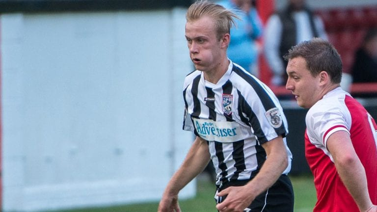 Maidenhead United FC's Sam Barratt. Photo: Connor Sharod-Southam.