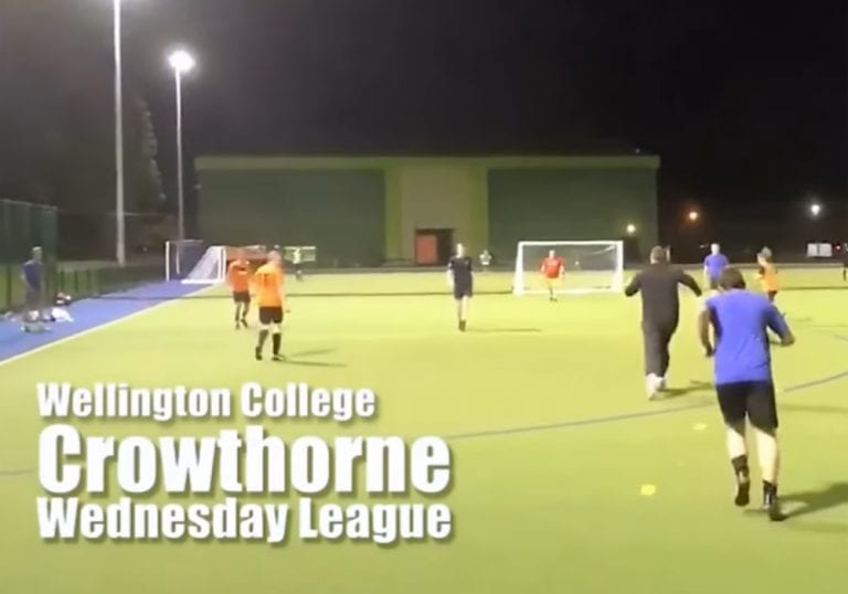 Screengrab from Stocker Soccer at Wellington College.