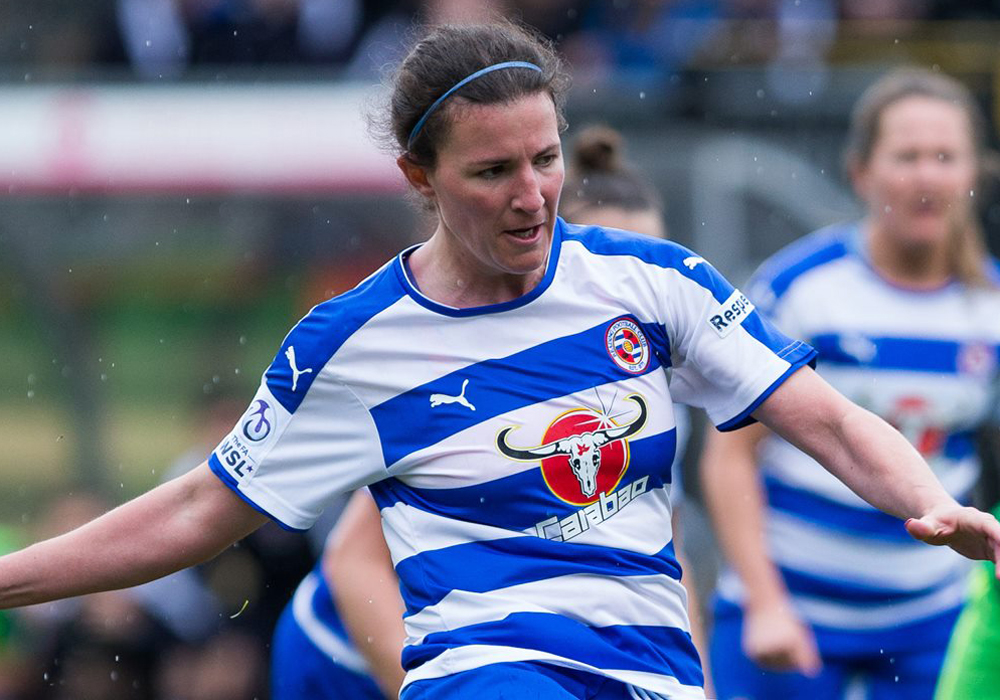 Reading FC Women striker Helen Ward. Photo: Neil Graham.