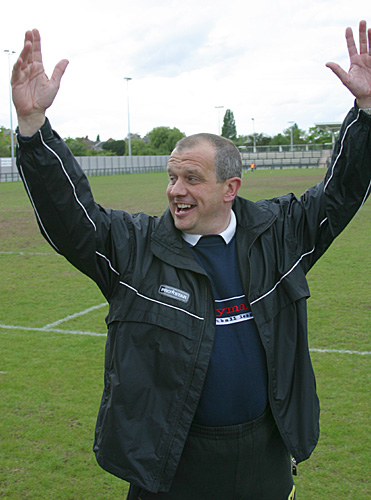 Alan Taylor - Bracknell Town manager. Photo: Richard Claypole.