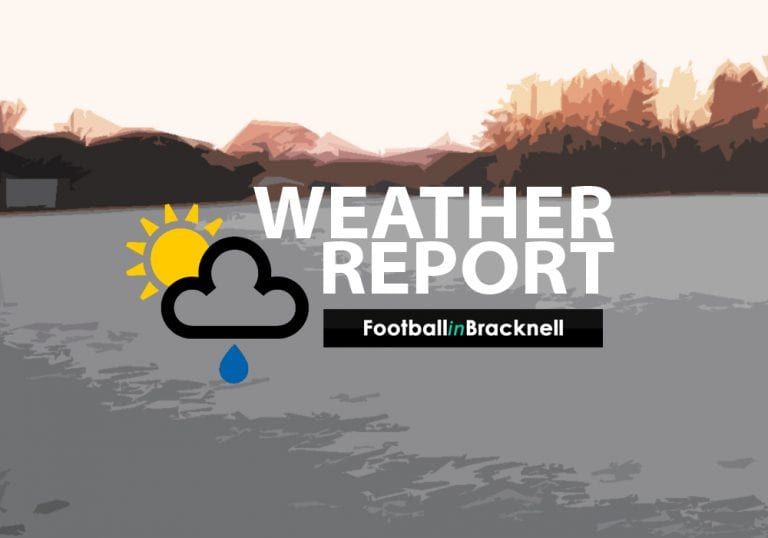 The FootballinBracknell Weather Report.