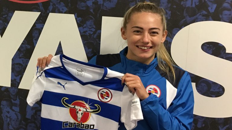 Reading Women FC's Charlie Estcourt.