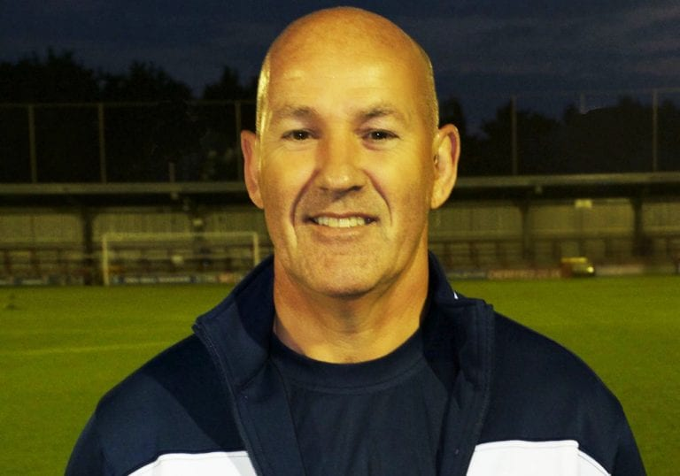 Bracknell Town first team manager Dave Ward.