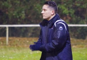 Binfield Reserve team manager Ellis Woods.