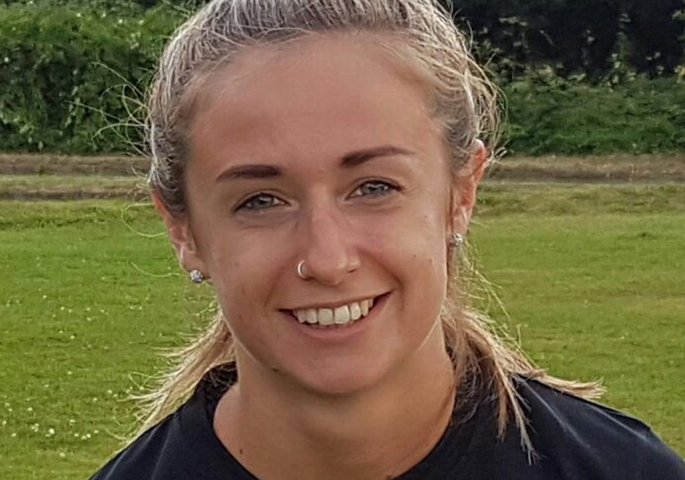 Ascot United Ladies Emma Wallace. Photo: @ascotladiesfc