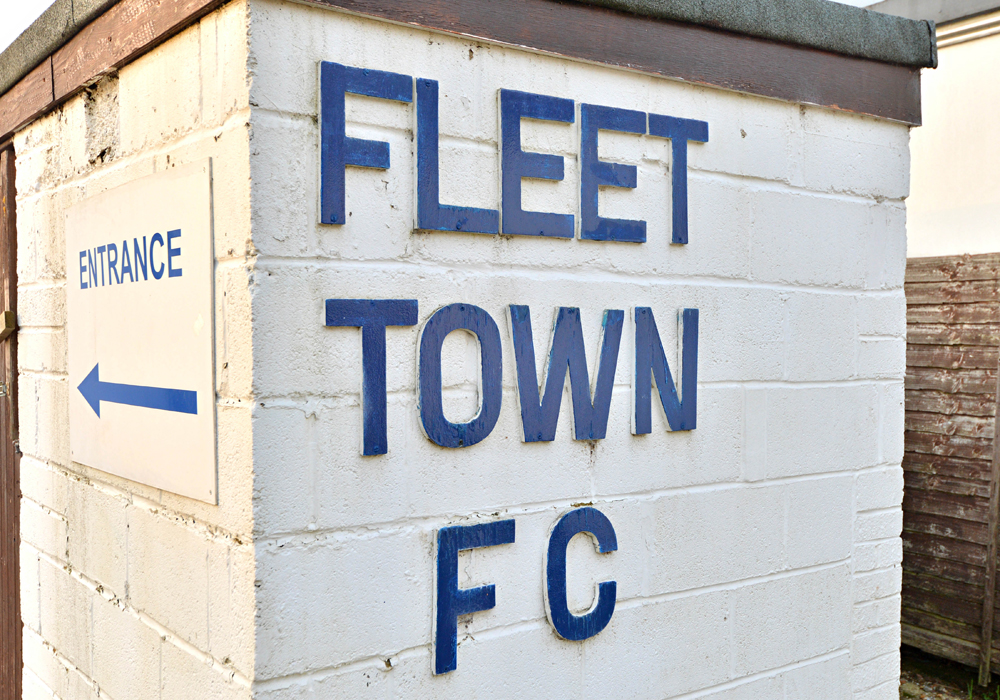 Fleet Town could be forced in to a two division demotion