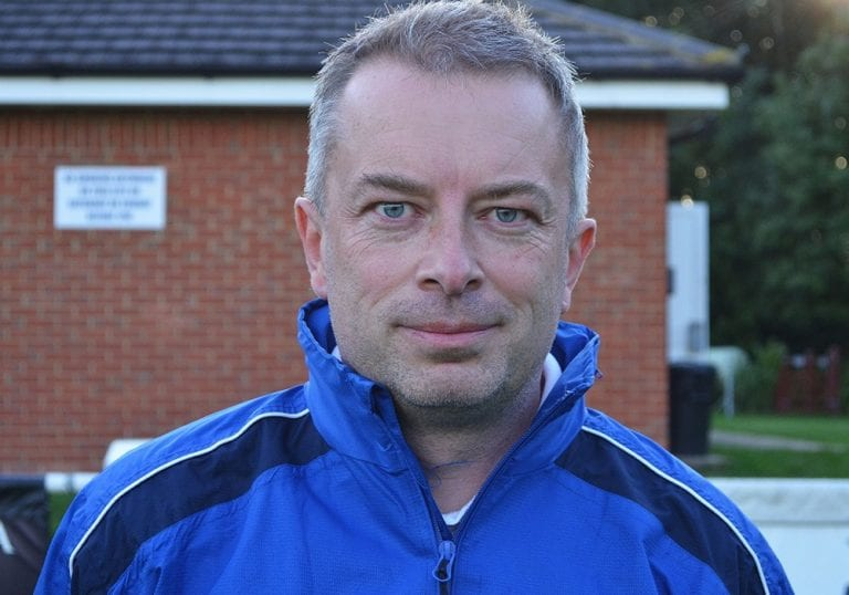 Ascot United FC manager Neil Richards. Photo: ascotunited.net
