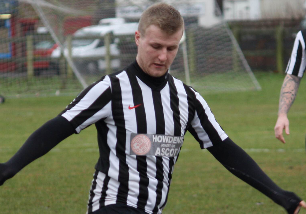 Winkfield FC's Ryan Martin. Photo: Lara Lanaghan.